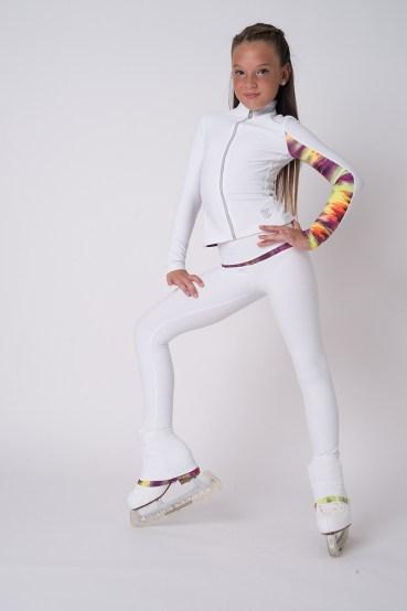 EMZA Giacca per Il Pattinaggio Abbigliamento tecnico